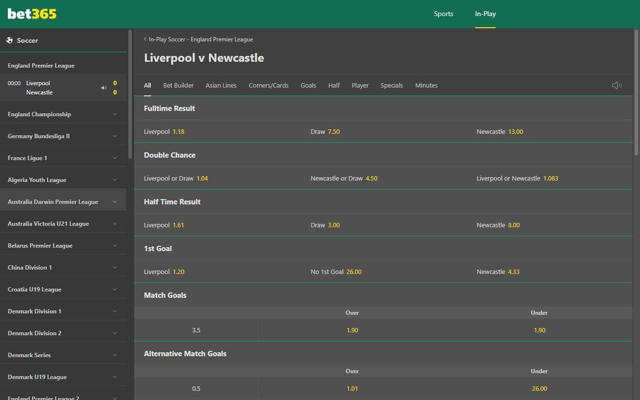 online betting bet365
