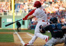 Marlins Phillies Baseball, Philadelphia, USA - 27 Apr 2019
