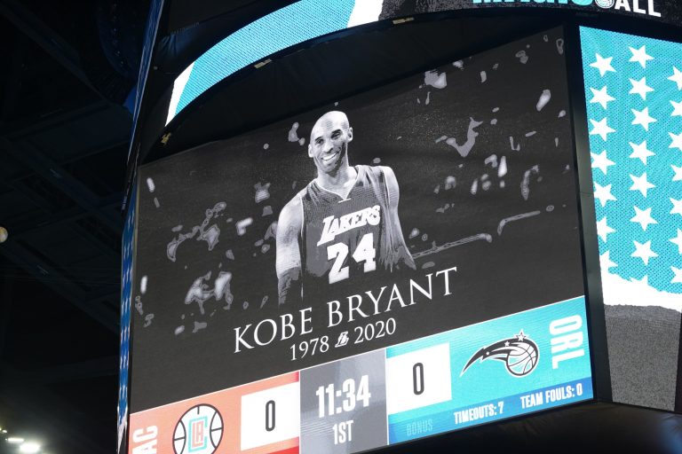 NBA Champion Kobe Bryant Commemorated by Emotional Tributes of Family and Fans
