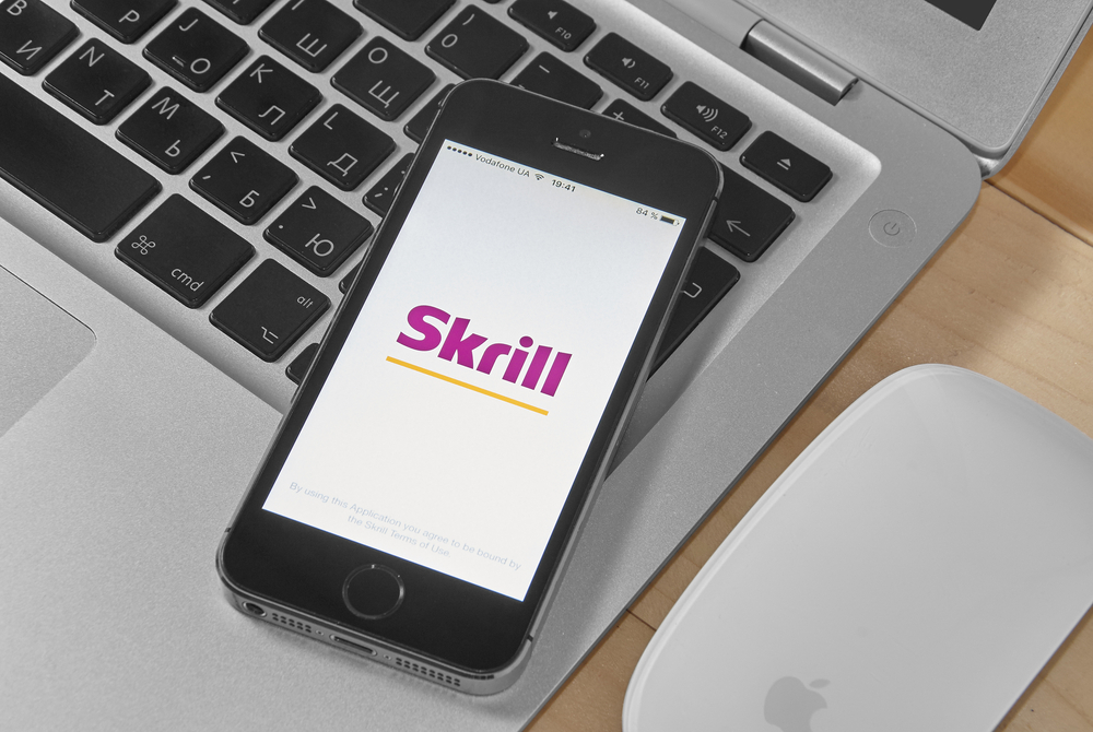 Skrill - payment methods