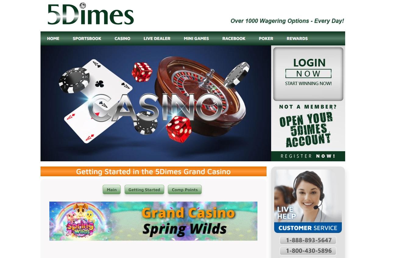5Dimes Grand Casino
