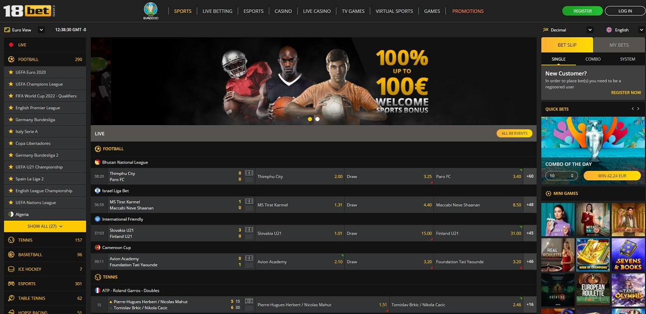 18Bet Review