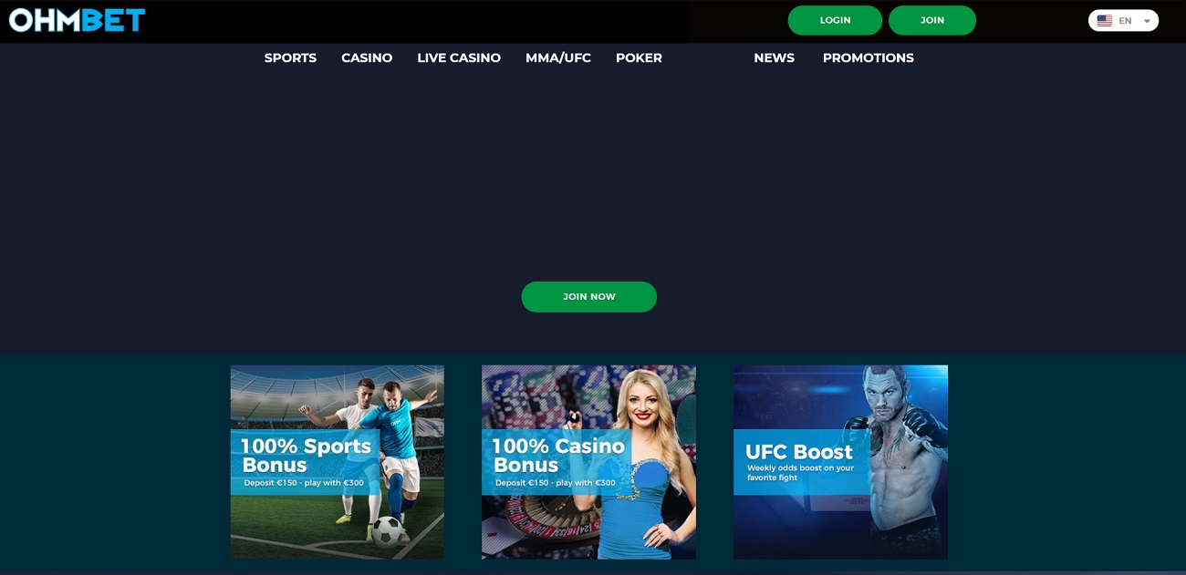 Ohmbet sportsbetting site review