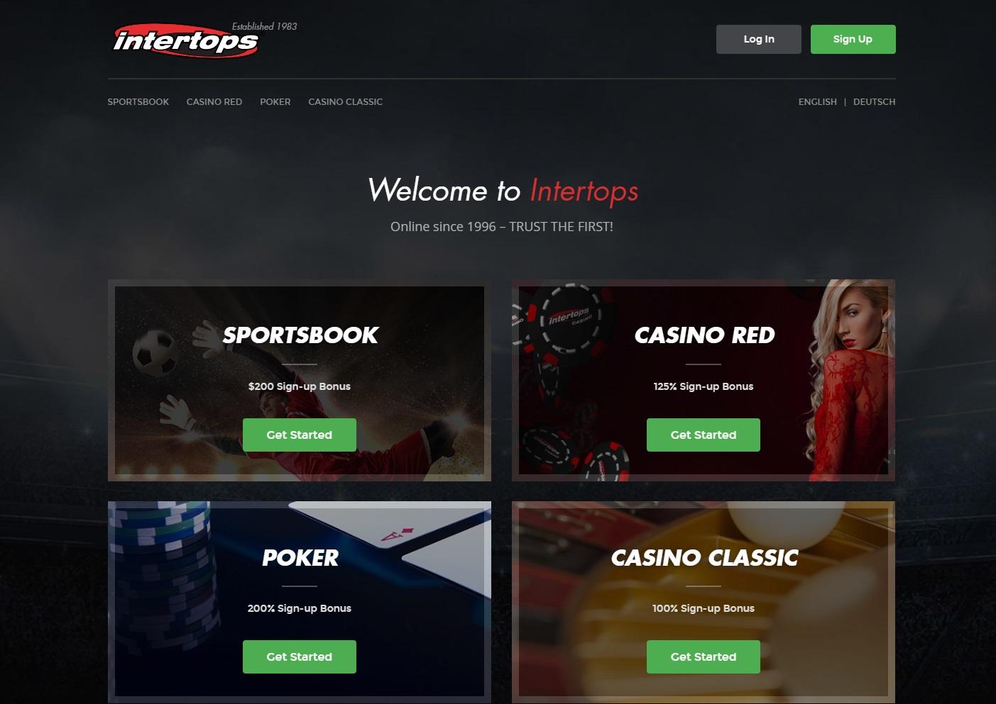 online website intertops