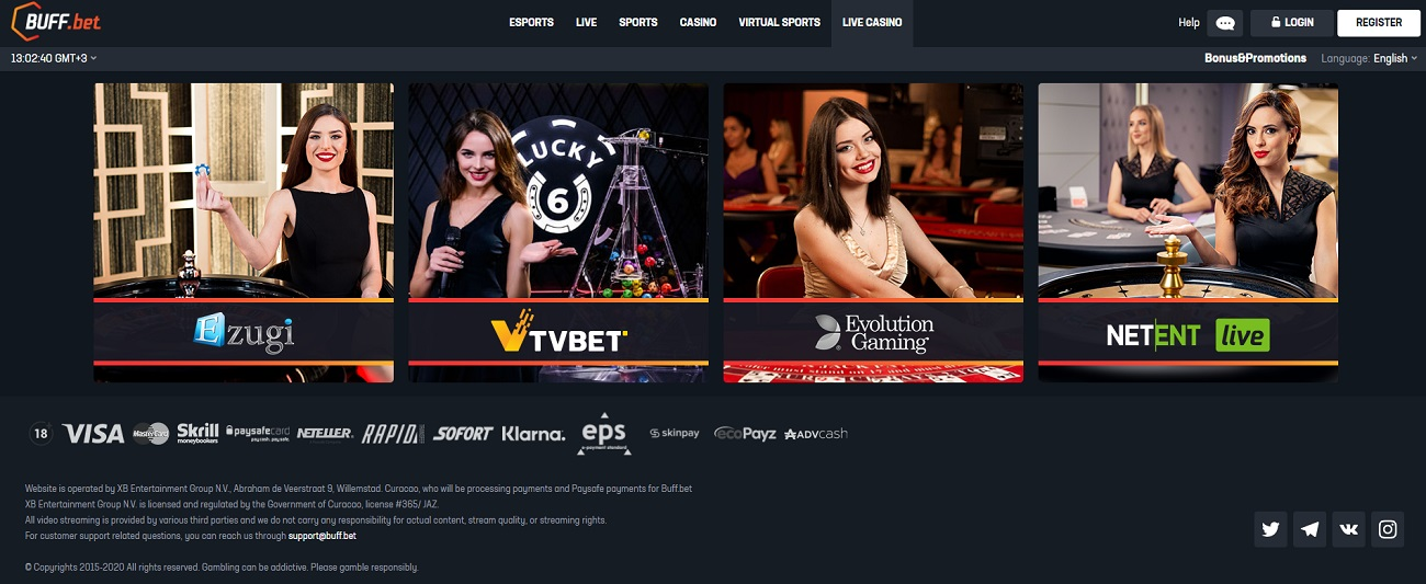 casino Buff Bet