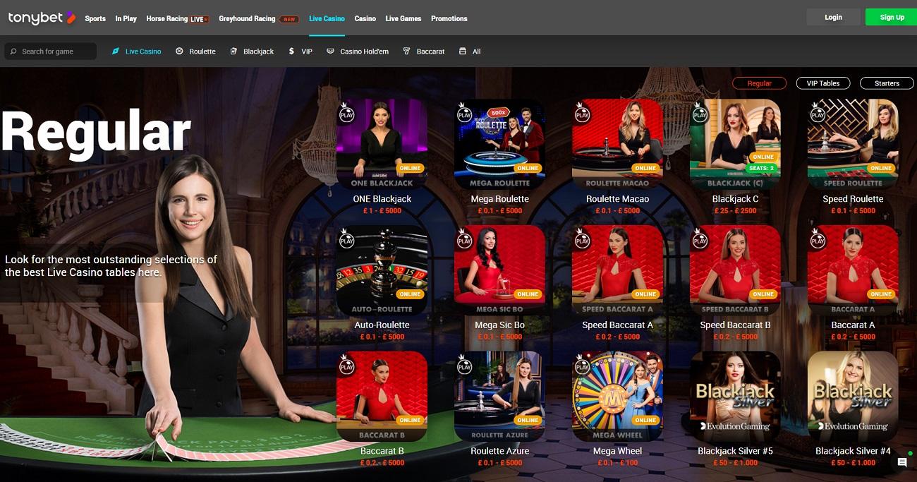 Casino tonybet