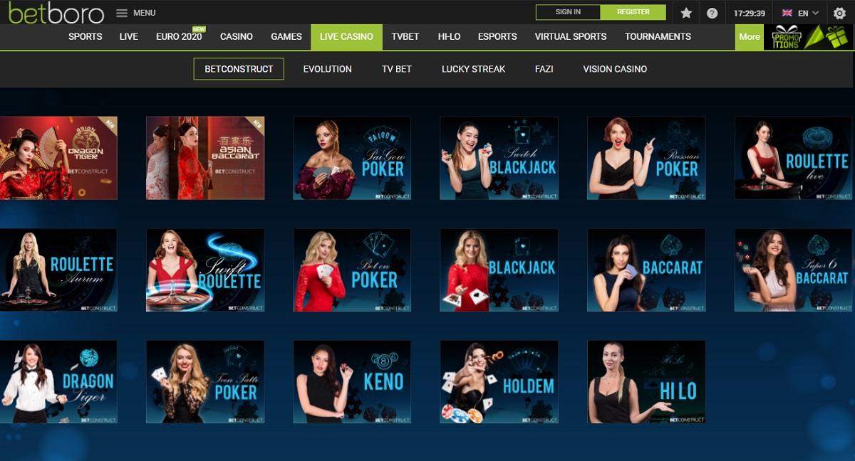 betboro Online casino