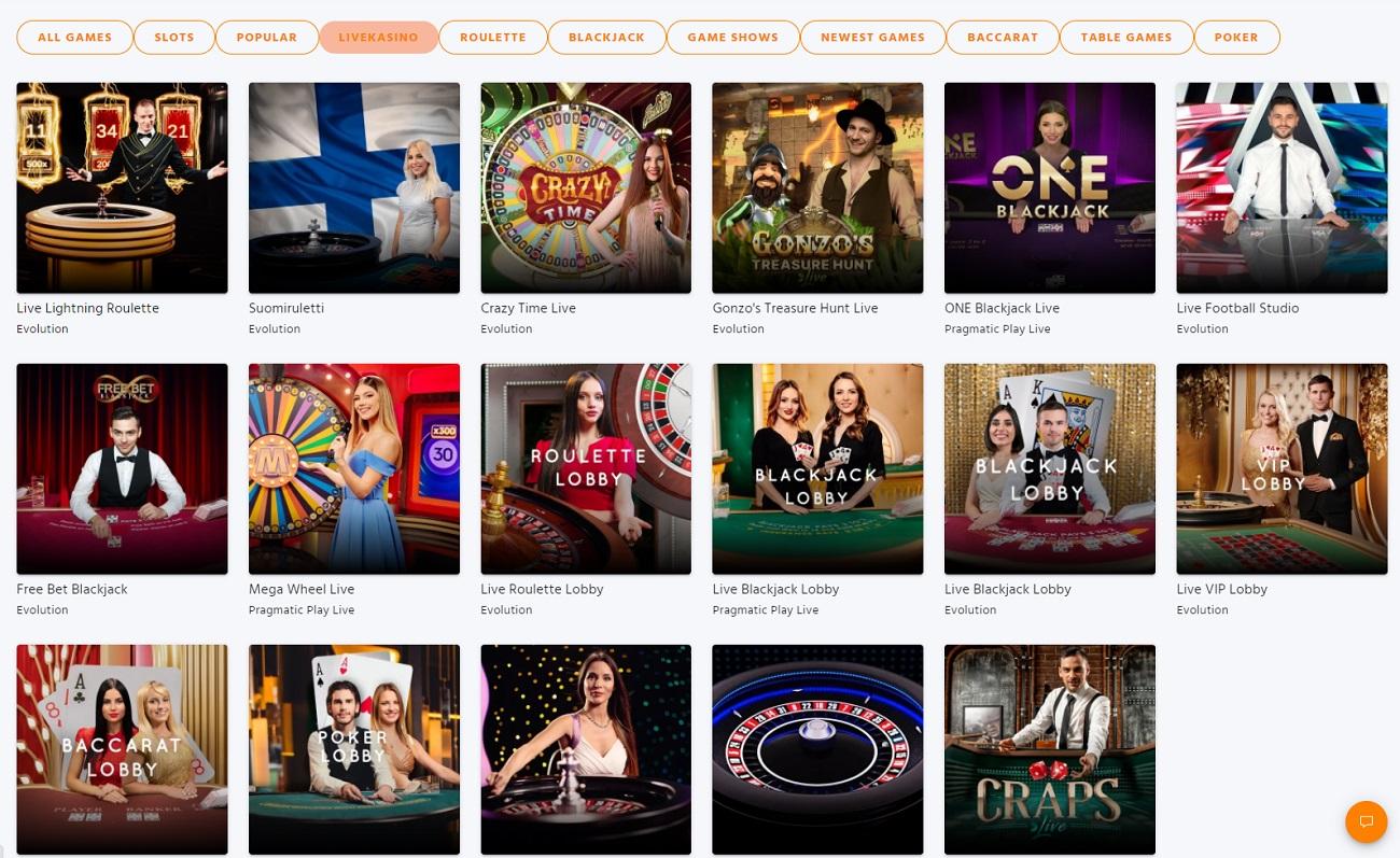 online Expekt Casino