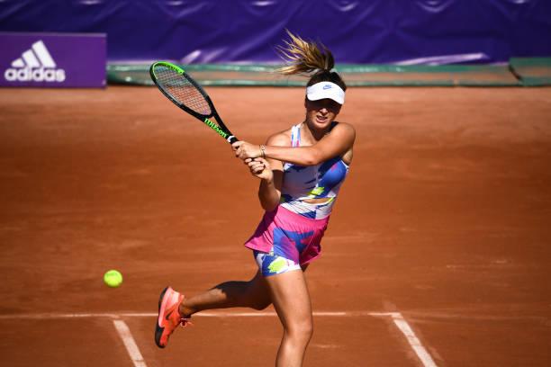Elina SVITOLINA during the International Tournament Strasbourg on September 22, 2020 in Strasbourg, France.