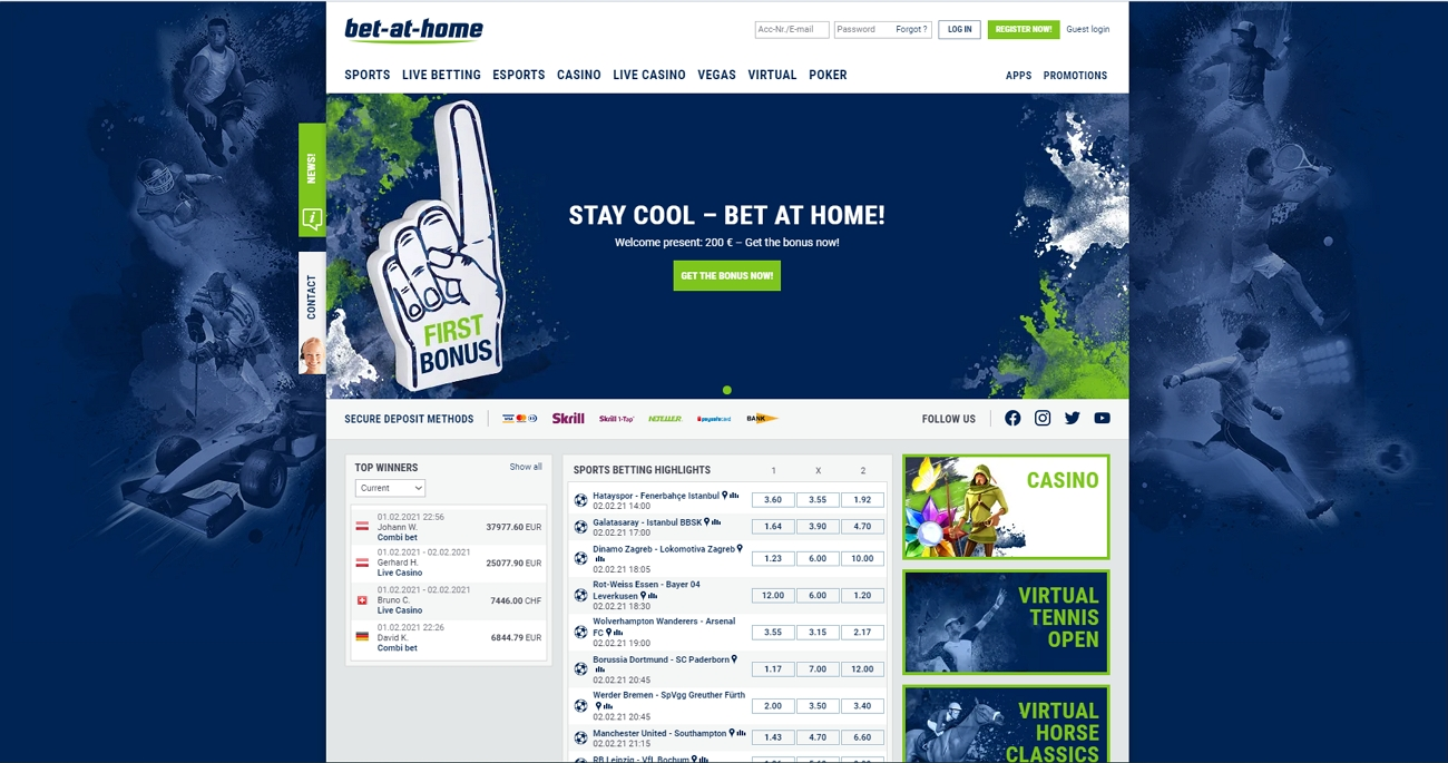 Bet at Home betting site review