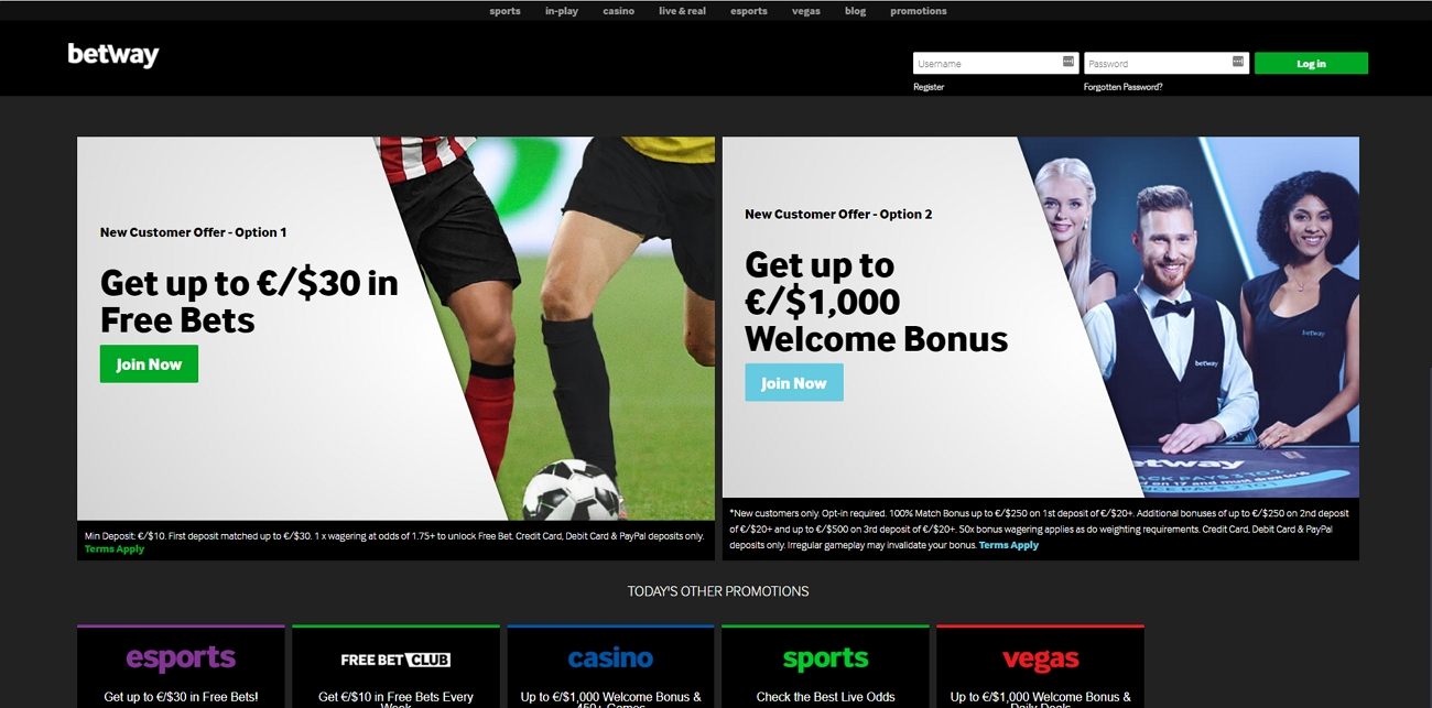 Betway bookmaker review