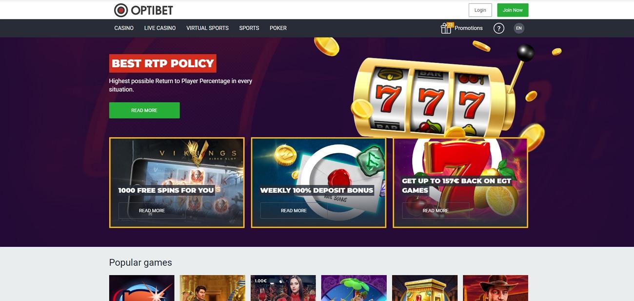 Optibet betting site review