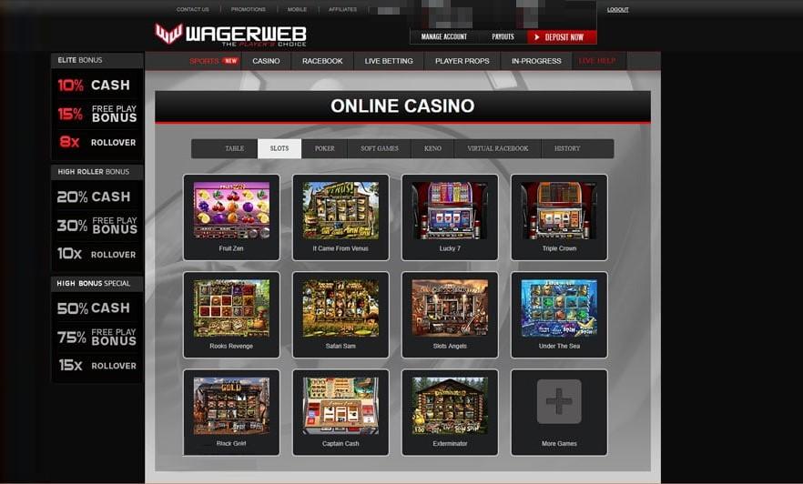 Casino wagerweb