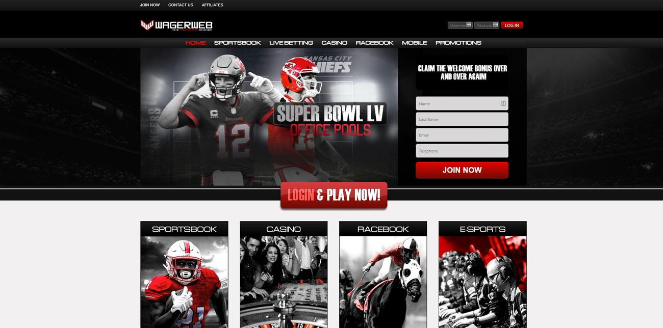 Wagerweb betting site review