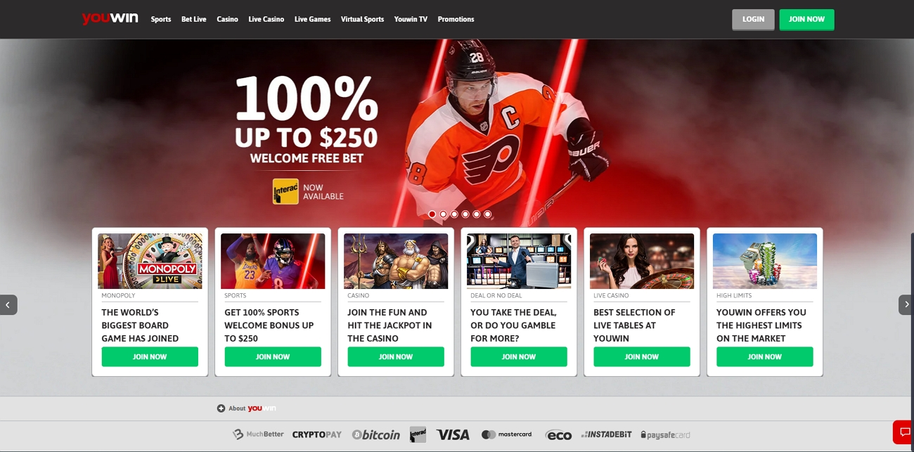 Youwin betting site review