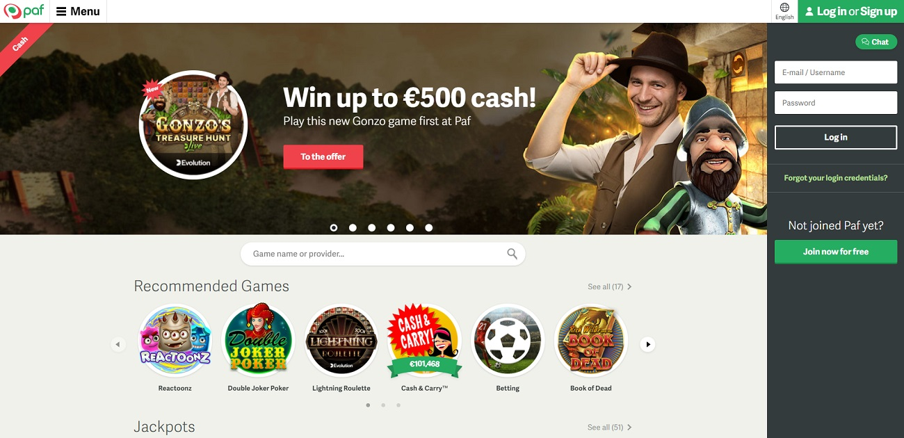 Paf betting review