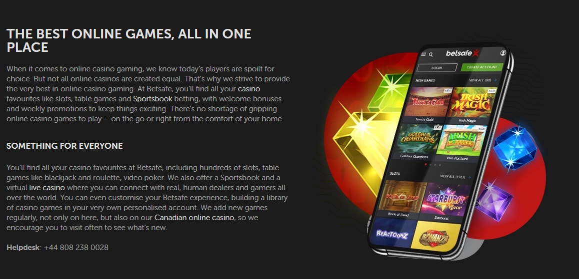 Betsafe Apps for android and iOS