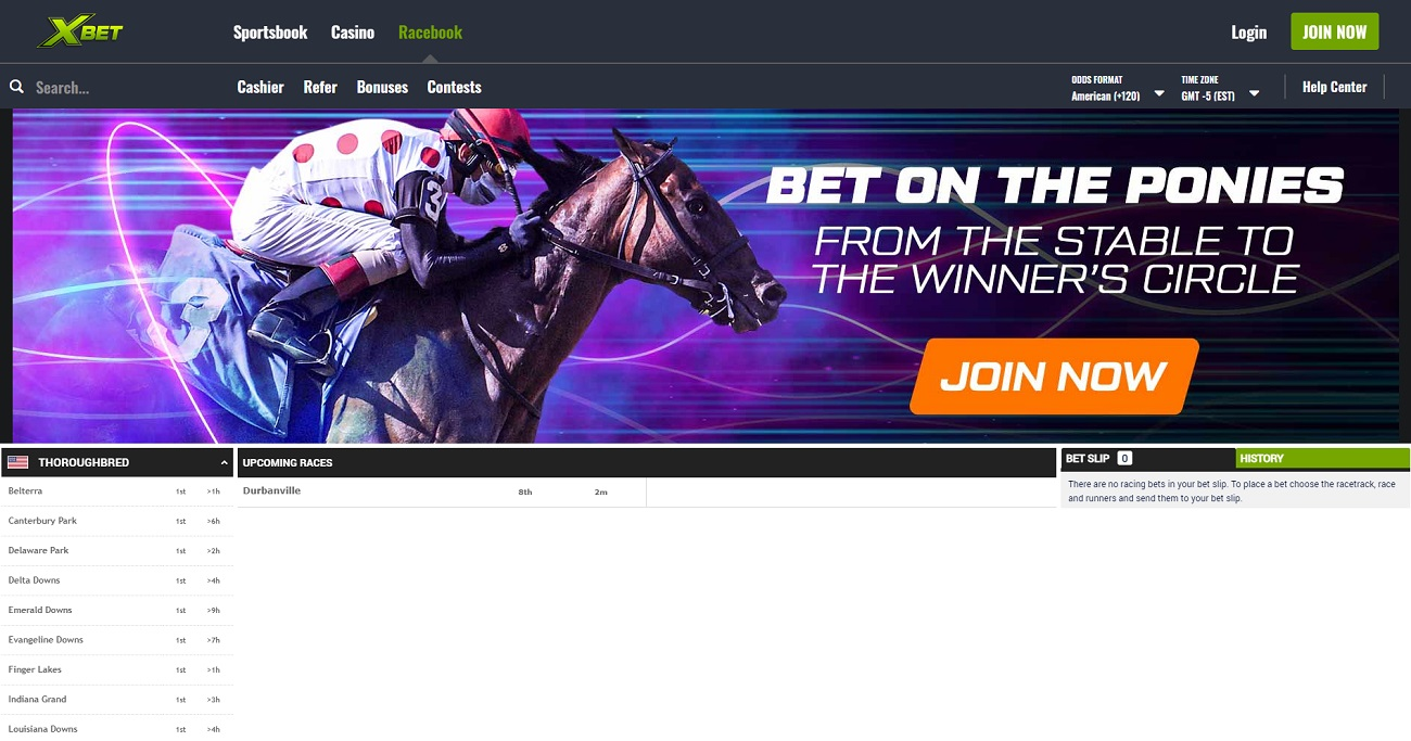 Horse racing at Xbet ag