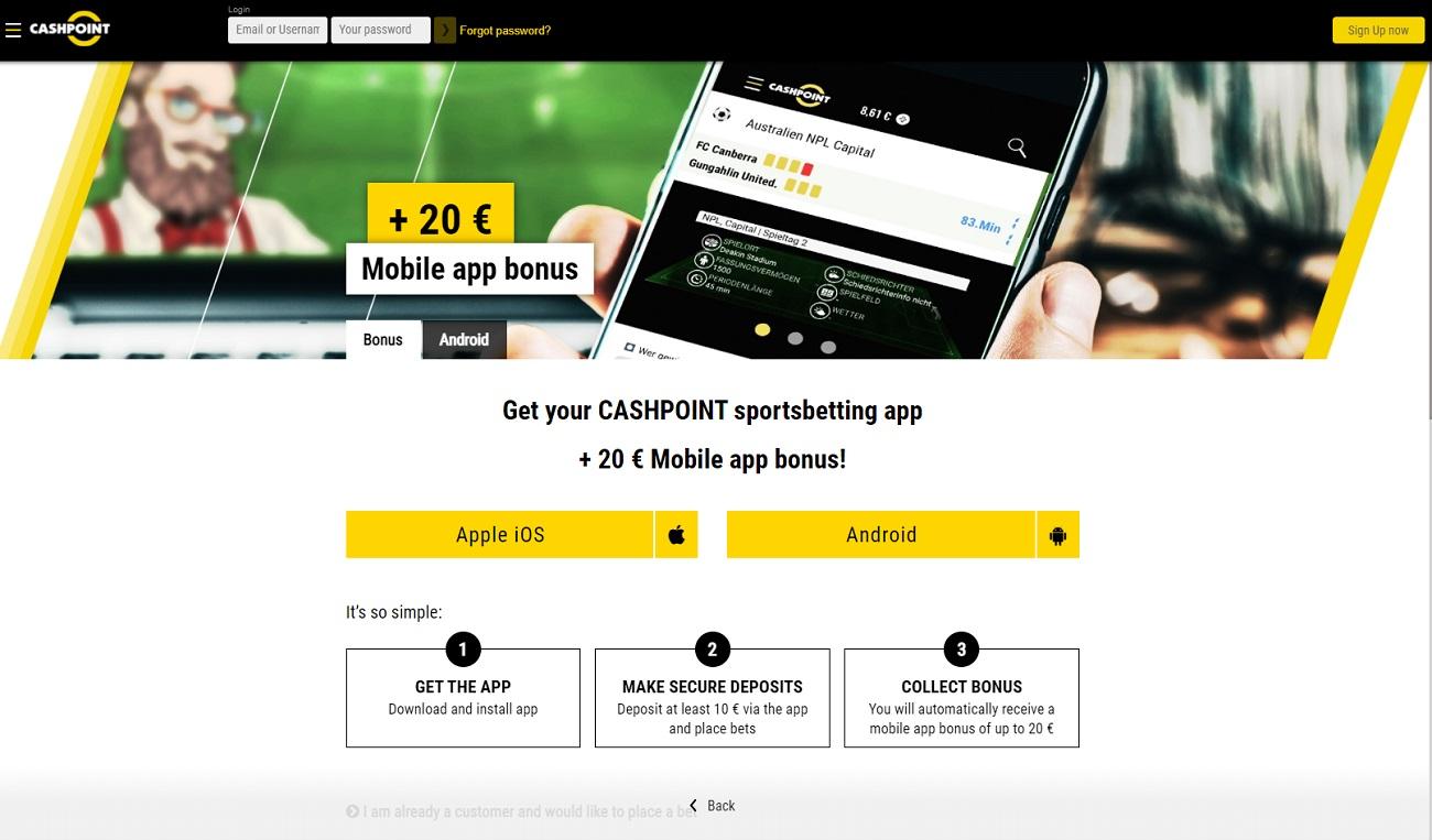 Cashpoint apps