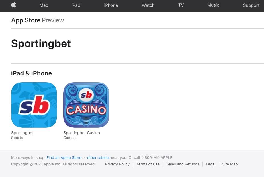Sportingbet apps