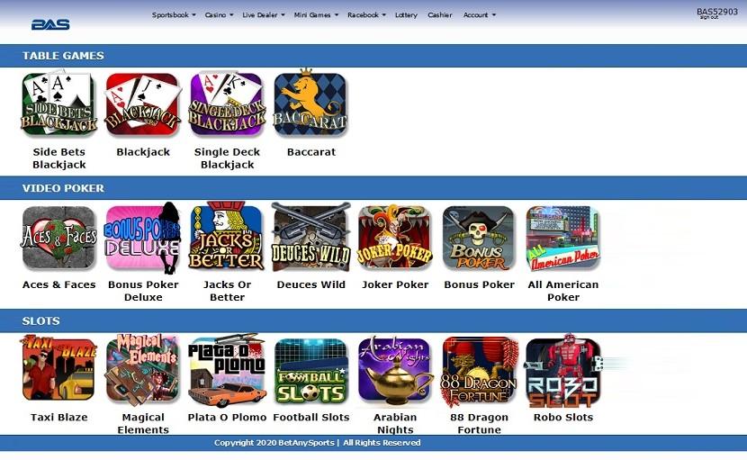 Casino betanysports