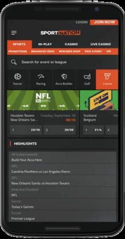 Sports Nation App